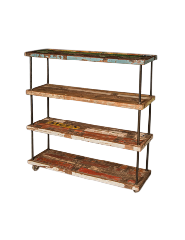 """Shelves in recycled wood """"ANSHU"""""""